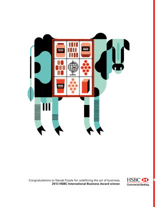 HSBC International Awards Print - Single