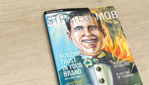 Strategy Mob Magazine Todd Lawson Illustrated Cover